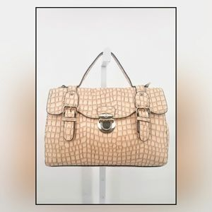 Anais Gvani mock croc satchel